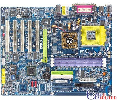 Gigabyte GA-7VT600-1394 - VIA KT600