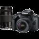 Canon EOS 4000D + EF-S 18-55mm DC + EF 75-300mm DC  + Kurz první kroky se zrcadlovkou po registraci + Získejte zpět 500 Kč po registraci