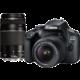 Canon EOS 4000D + EF-S 18-55mm DC + EF 75-300mm DC  + Voucher až na 3 měsíce HBO GO jako dárek (max 1 ks na objednávku)