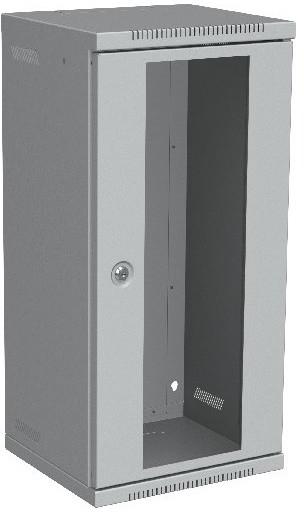 Solarix 12U, RAL 7035, skleněné dveře