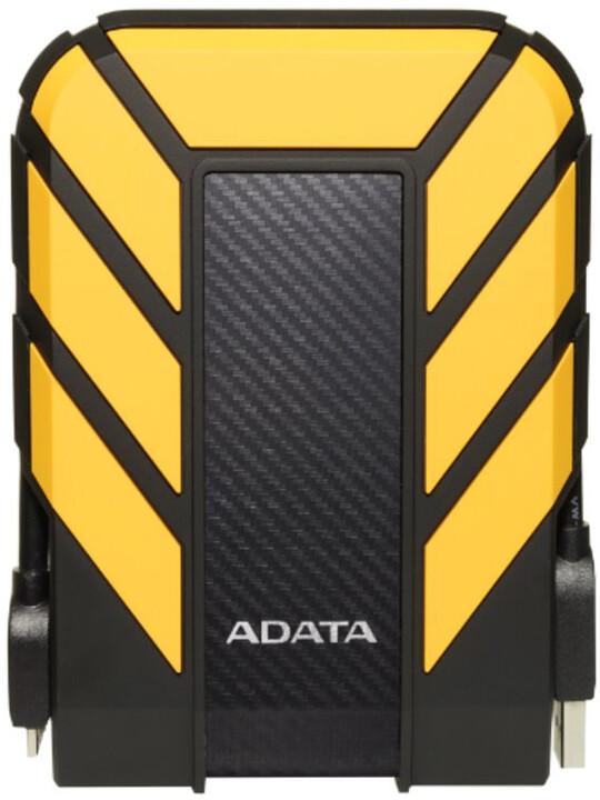 ADATA HD710 Pro, USB3.1 - 2TB, žlutý