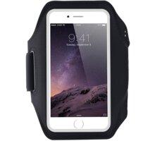 """Mobilly sportovní pouzdro na ruku pro mobilní telefon do 6.4"""", černá"""