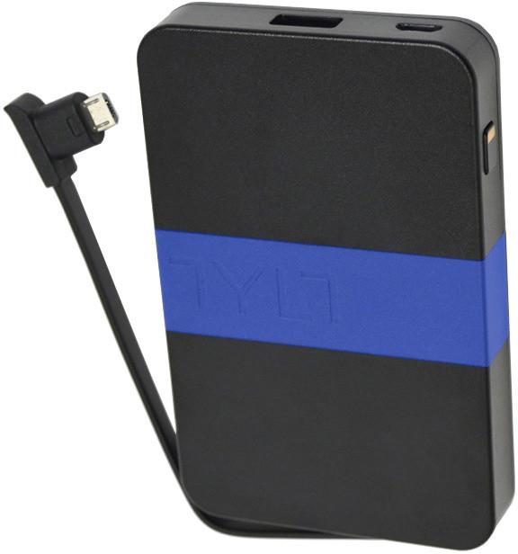 TYLT ENERGI 3K, micro usb kabel, černá/modrá