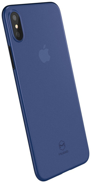 Mcdodo iPhone X Ultra Slim Air Jacket Case (PP), Clear Blue