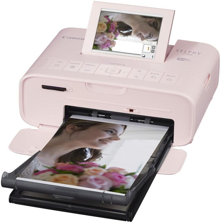 Canon Selphy CP-1300, růžová