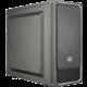 CoolerMaster MasterBox E500L, černá  + Voucher až na 3 měsíce HBO GO jako dárek (max 1 ks na objednávku)