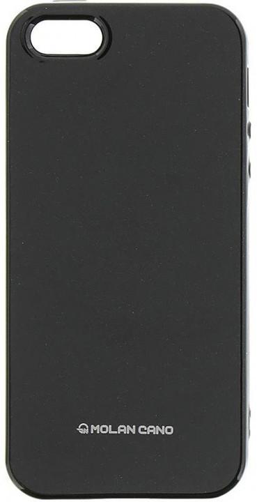 Molan Cano Jelly TPU Pouzdro pro iPhone 7/8, černá