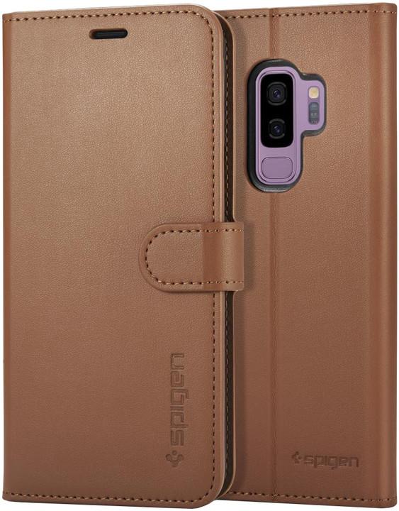 Spigen Wallet S pro Samsung Galaxy S9+, brown