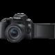 """Canon EOS 250D + 18-55mm IS STM, černá  + Trenýrky se vzorem - velikost L v hodnotě 259 Kč + Získejte po registraci - Kurz """"Základy fotografování"""" - Akademie focení + Cashback 1 300 Kč po registraci"""