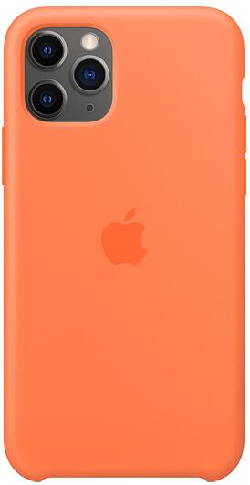 Apple silikonový kryt na iPhone 11 Pro, oranžová