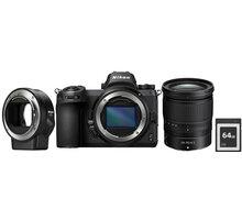 Nikon Z6 + 24-70mm + FTZ adapter + 64GB XQD karta - VOA020K009