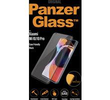 PanzerGlass Premium pro Xiaomi Mi 10/Mi 10 Pro, černá O2 TV Sport Pack na 3 měsíce (max. 1x na objednávku)