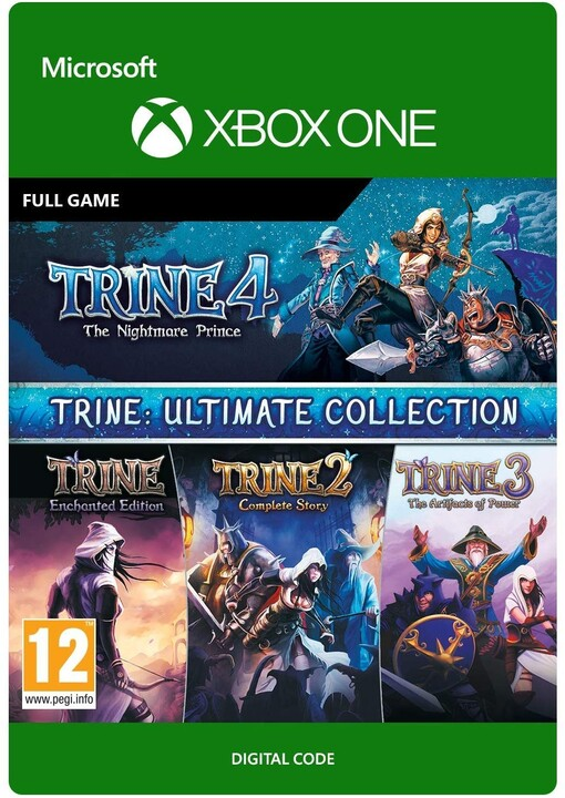 Trine: Ultimate Collection (Xbox ONE) - elektronicky