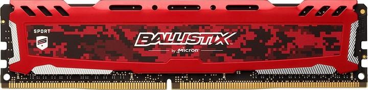 Crucial Ballistix Sport LT Red 8GB DDR4 2400