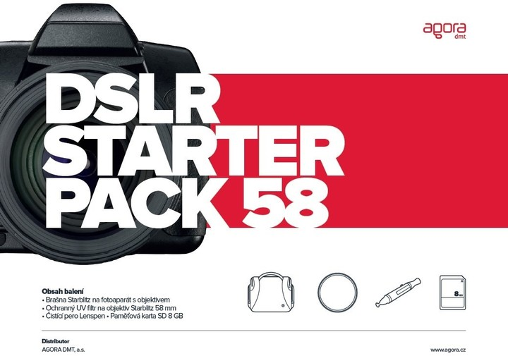 Vanguard DSLR starter pack 58