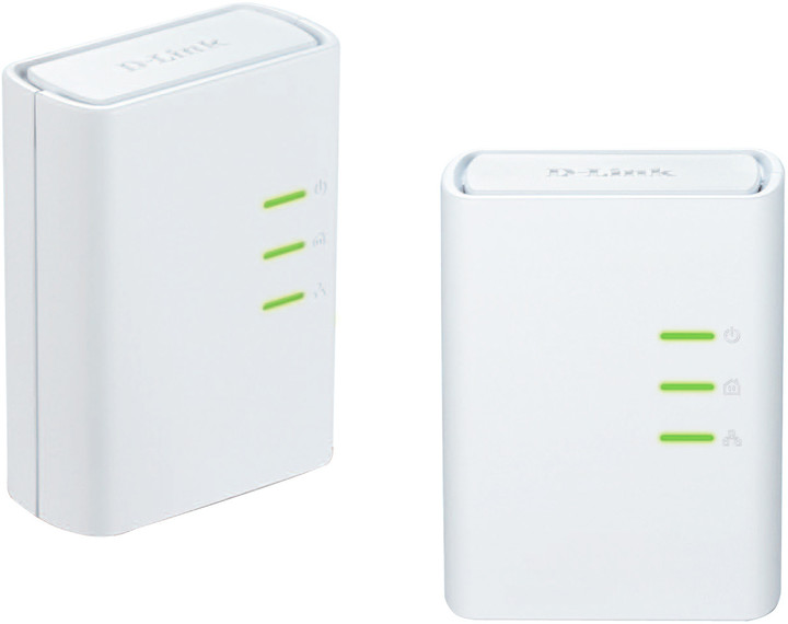 D-Link DHP-309AV/E, Powerline Homeplug Starter Kit
