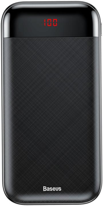 Baseus powerbanka 20000mAh Mini Cu, černá