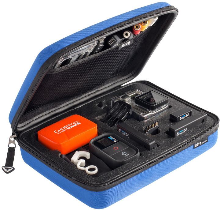 SP POV pouzdro pro GoPro-Edition 3.0, S, modrá