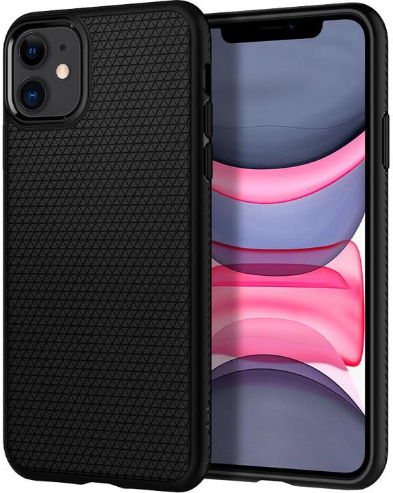Spigen Liquid Air iPhone 11, černá