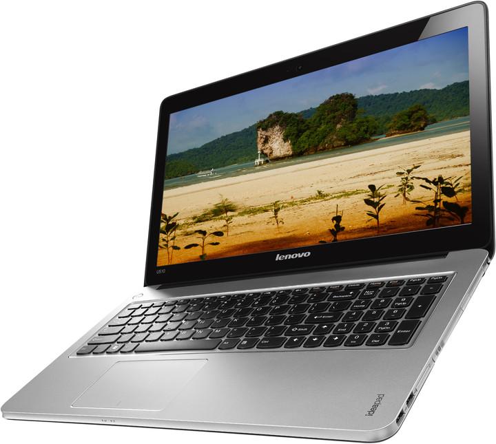 Lenovo IdeaPad U510, šedá