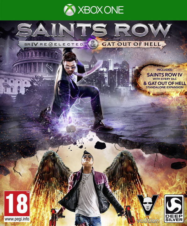 Saints Row IV: Re-Elected + Gat Out of Hell First Edition (Xbox ONE)