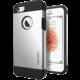 Spigen Tough Armor kryt pro iPhone SE/5s/5, stříbrná