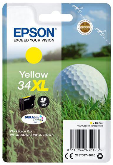 Epson C13T34744010, yellow