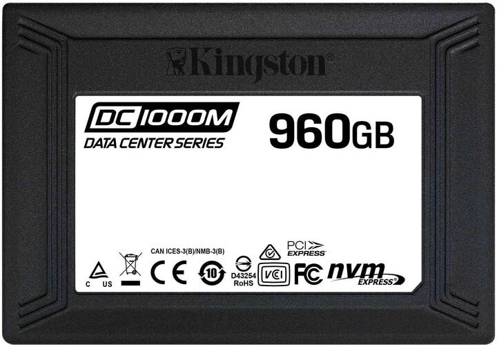Kingston DC1000M, U.2 - 960GB