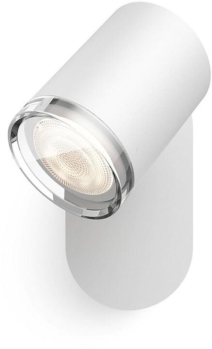 Philips Hue White Ambiance Bodové svítidlo Adore BT 34178/31/P6 bílé s ovladačem