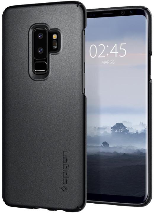 Spigen Thin Fit pro Samsung Galaxy S9+, graphite gray