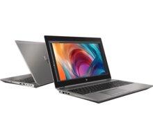 HP ZBook 15 G6, stříbrná  + Servisní pohotovost – Vylepšený servis PC a NTB ZDARMA + Elektronické předplatné deníku E15 v hodnotě 793 Kč na půl roku zdarma