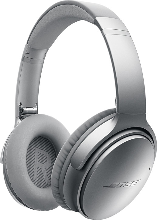 Bose QuietComfort 35 wireless, stříbrná