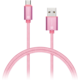 CONNECT IT Wirez Premium Metallic micro USB - USB, rose gold, 1m