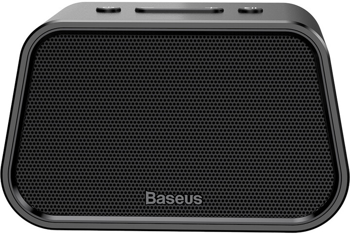 Baseus bezdrátový reproduktor E02 (AluminumAlloy+U Disk/TF Card/AUX), černá