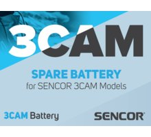 Sencor 3CAM baterie 900 mAh 3,7V Li-Ion - 35047739