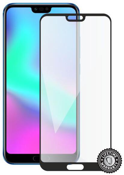 Screenshield ochrana displeje Tempered Glass pro Honor 10 (full cover), černá
