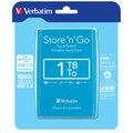 Verbatim Store'n'Go, USB 3.0 - 1TB, modrá
