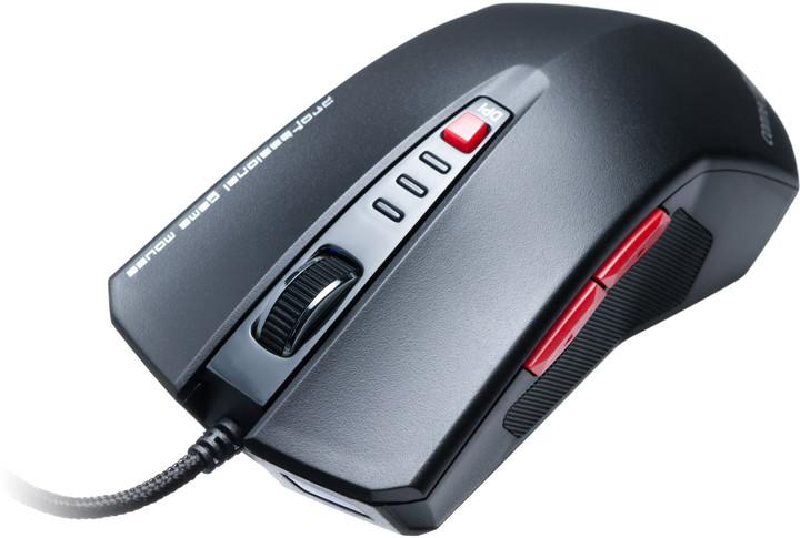 CONNECT IT Tomcat myš, černá