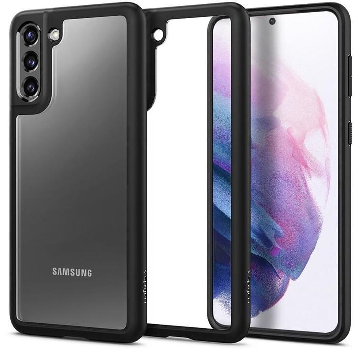 Spigen ochranný kryt Ultra Hybrid pro Samsung Galaxy S21+, černá