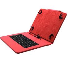 """C-TECH PROTECT NUTKC-04, pouzdro s klávesnicí pro 10,1"""", červená - NUTKC-04R"""