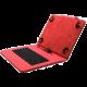 """C-TECH PROTECT NUTKC-04, pouzdro s klávesnicí pro 10,1"""", červená"""