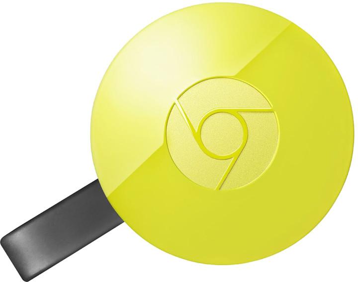 Google Chromecast 2, žlutá