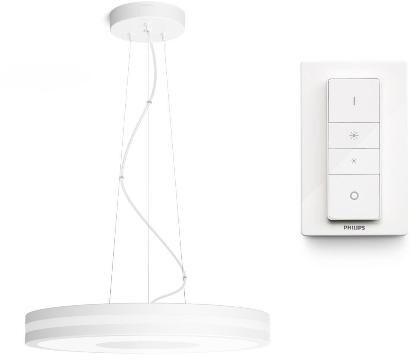 Philips závěsné svítidlo Hue Being, LED, 39W, 3000lm, 2200-6500K, bílá - 2.generace s BT