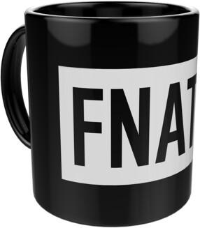 Hrnek Fnatic Logo, černý