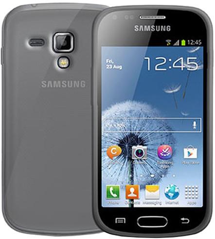CELLY Gelskin pouzdro pro Samsung Galaxy Trend/Trend Plus, bezbarvé