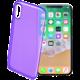 CellularLine COLOR barevné gelové pouzdro pro Apple iPhone X, fialové