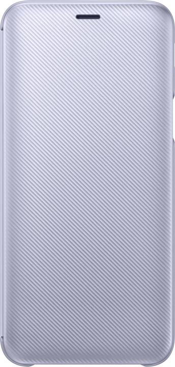 Samsung flipové pouzdro pro J6 2018, levandulová