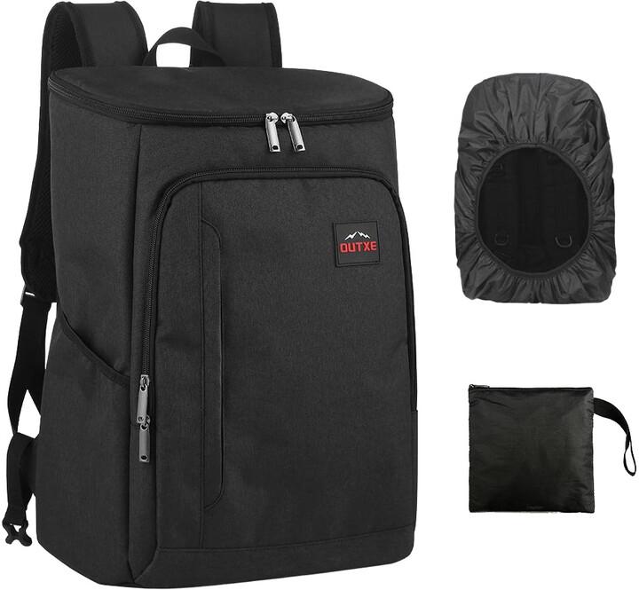 Outxe izolovaný chladící batoh 25L, černá