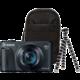 Canon PowerShot SX740 HS, Travel Kit, černá  + Získejte zpět 1 000 Kč