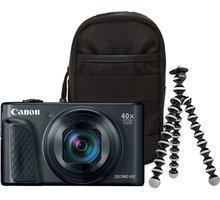Canon PowerShot SX740 HS, Travel Kit, černá - 2955C016
